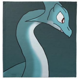 Sea Dragon Printed Napkins