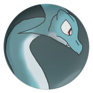 Sea Dragon Party Plate
