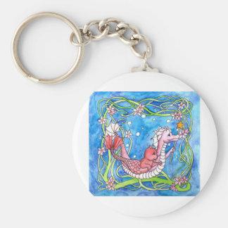 Sea Dragon Quest Keychain