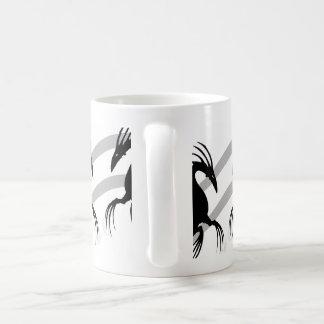 Sea Dragon Silhouette Basic White Mug