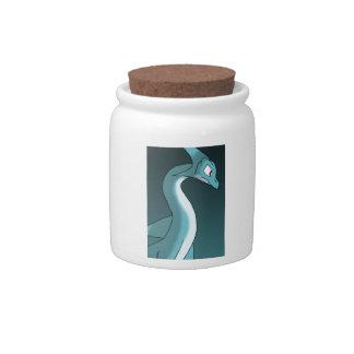 Sea Dragon Candy Jars