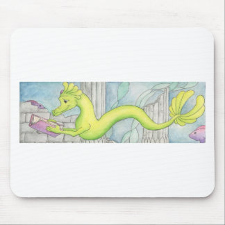 Sea Dragon Treasure Mouse Pad