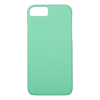 SEA FOAM GREEN (solid colour) ~ iPhone 8/7 Case