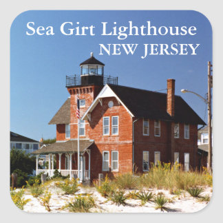 Sea Girt Lighthouse, New Jersey Stickers