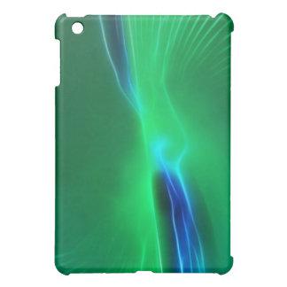 Sea green abstract fractal iPad mini covers