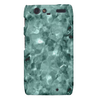 Sea Green Droid RAZR Cover