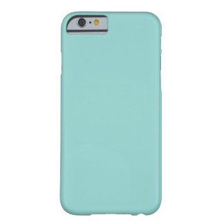 Sea Green Barely There iPhone 6 Case