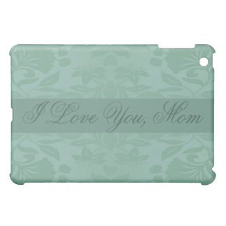 Sea Green Damask Mother's Day Cover For The iPad Mini