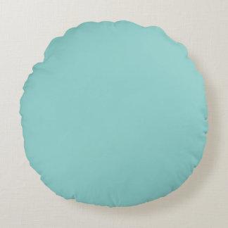 Sea Green Round Pillow