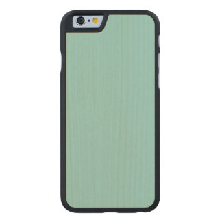 Sea Green Maple Wood Carved® Maple iPhone 6 Case