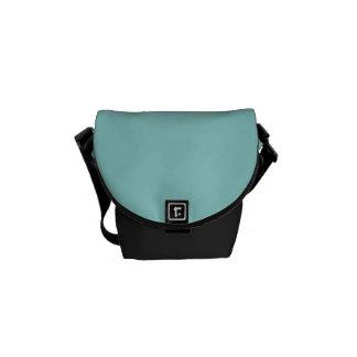 """""""Sea Green"""" Courier Bag"""
