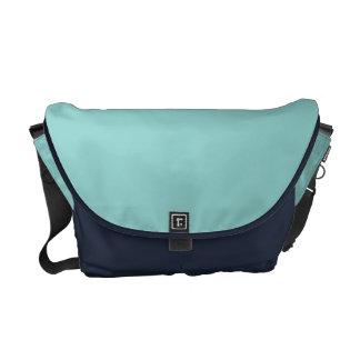 Sea Green Courier Bag