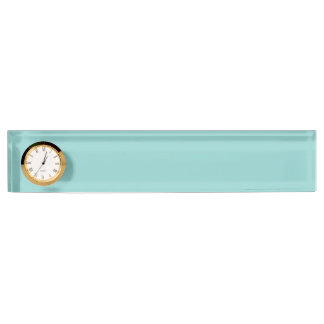 Sea Green Name Plate