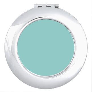 Sea Green Travel Mirror