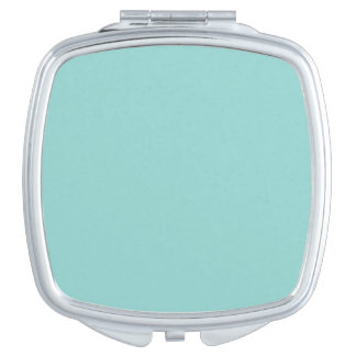Sea Green Compact Mirror