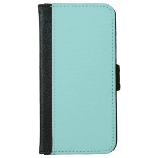 """Sea Green"" iPhone 6 Wallet Case"
