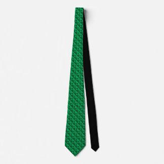 Sea Green Rhombus™ Mens' Necktie