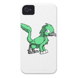 Sea Green SD Reptilian Bird Dragon iPhone 4 Cases