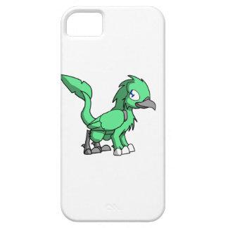 Sea Green SD Reptilian Bird Dragon iPhone 5 Case