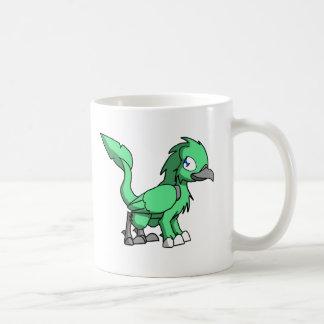 Sea Green SD Reptilian Bird Dragon Coffee Mugs
