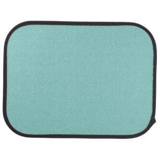 """Sea Green"" Floor Mat"