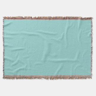 Sea Green Throw Blanket