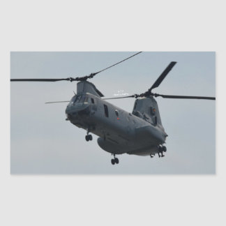 Sea knight CH-46 Rectangular Sticker