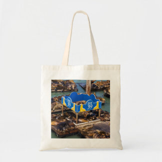 Sea Lions in San Francisco Tote Bag