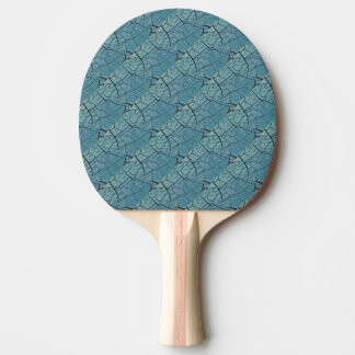 Sea Monster Scales Ping Pong Paddle