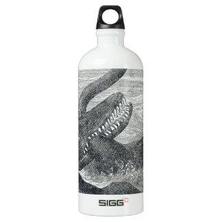 Sea Monster Vs. Sea Serpent SIGG Traveller 1.0L Water Bottle