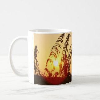 Sea Oat Sunrise Basic White Mug
