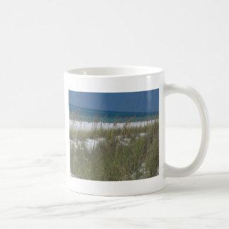 Sea Oats and Waves Basic White Mug