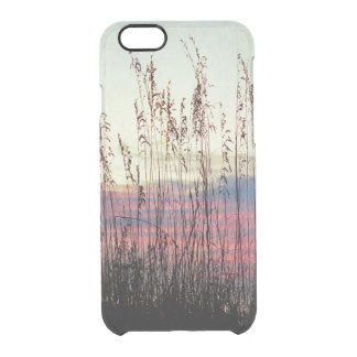 Sea Oats at Sunrise Clear iPhone 6/6S Case