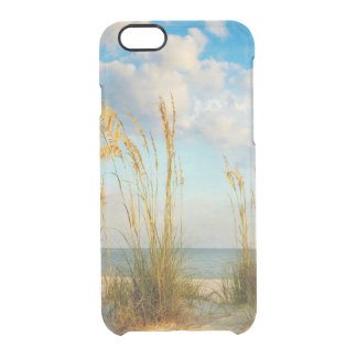 Sea Oats At the Beach Clear iPhone 6/6S Case