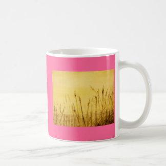 sea oats basic white mug