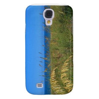 Sea oats beach dune ocean and sky photo galaxy s4 case