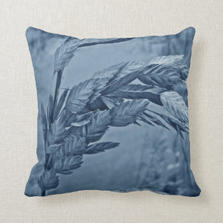 Sea Oats - Blueberry Throw Pillow
