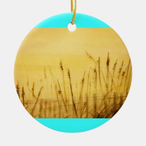 sea oats ornaments