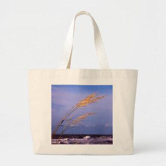 Sea Oats Jumbo Tote Bag