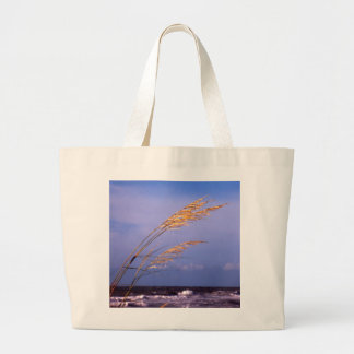 Sea Oats Large Tote Bag