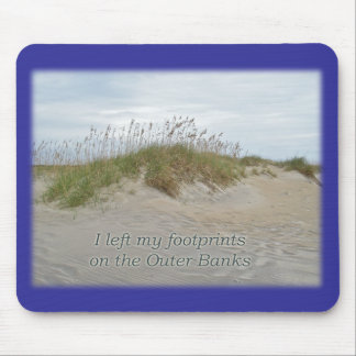 Sea Oats on Sand Dune Outer Banks NC Mouse Pad