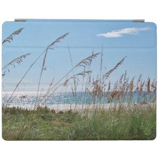 Sea Oats on White Sand Beach iPad Cover