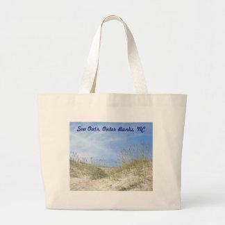 Sea Oats Outer Banks NC Series Canvas Bag