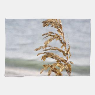 Sea Oats, Sea Breeze Hand Towel