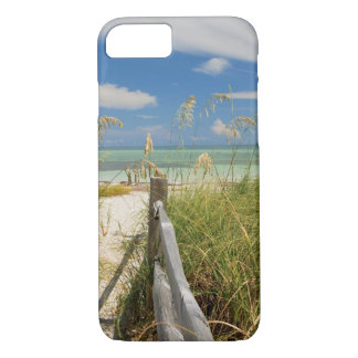 Sea oats Uniola paniculata) growing by beach iPhone 7 Case