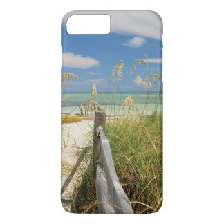 Sea oats Uniola paniculata) growing by beach iPhone 7 Plus Case