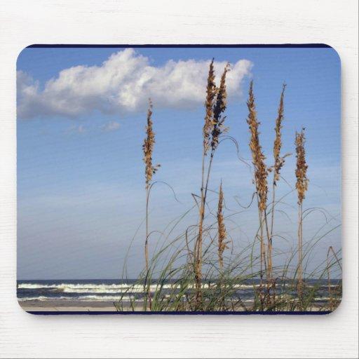 Sea Oats, Waves and Sky Mouse Pad