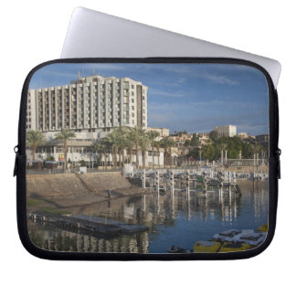 Sea of Galilee-Lake Tiberias waterfront, dawn Laptop Sleeve