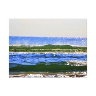 """Sea of Green"" Canvas print"