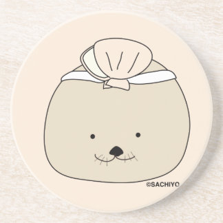 """Sea otter """"and others -"""" coaster"""